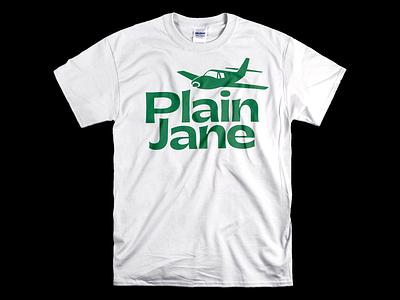 Plain Jane white green t-shirt mockup t-shirt design t-shirt tee shirt tee design gatwick plane airplane typeface typography design studio filippos fragkogiannis graphic design experimental typography visual design visual communication filippos fragkogiannis design typography