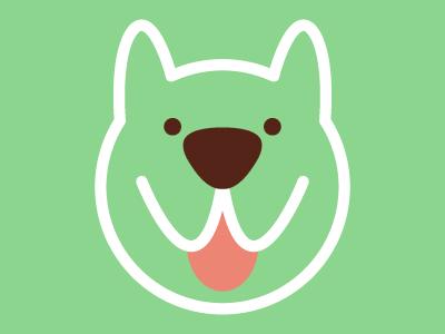 Woofood dog branding illustration vfs