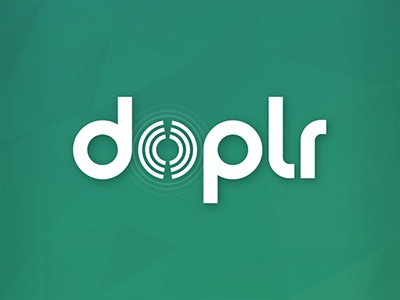 Logo Doplr final logo doplr app networking vfs