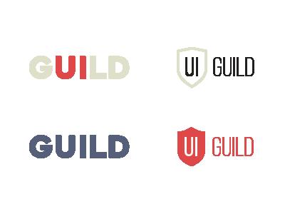 Ui Guild design guild ui logo
