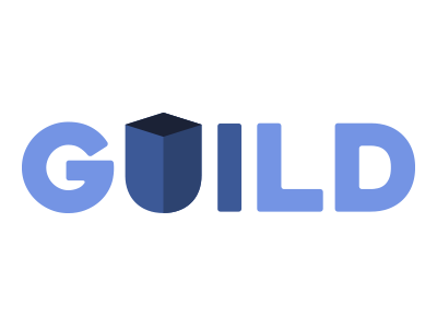 Guild Ui shield typography design guild ui logo