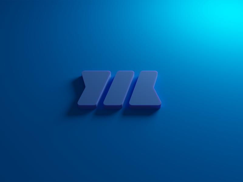 Logo in 3D blender 3d logo