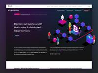 ACA Blockchain Service landing page