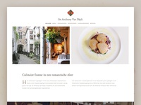 Sir Anthony Van Dijck Restaurant website