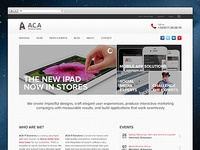 Website mockup ACA IT-Solutions