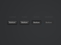 Buttons dark (.psd included)
