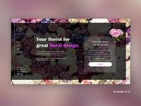 Flower Shop webdesign
