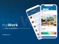 myWork app design