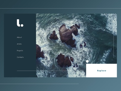 Web Design Concept adobe photoshop cc web webdesign ux ui design