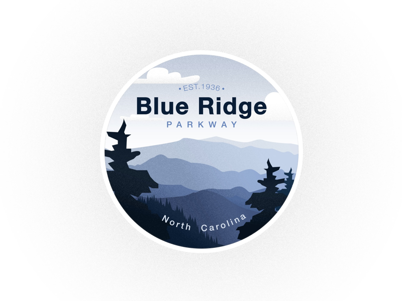 Blue Ridge Badge