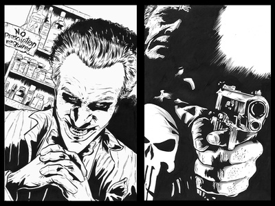 The Joker & The Punisher