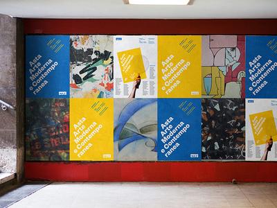 MAT - Asta Arte Moderna e Contemporanea branding poster auction art identity visual design