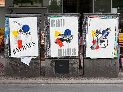 Adobe Hidden Treasures: Bauhaus Dessau - Tribute bauhaus identity graphic design graphic design typeface poster