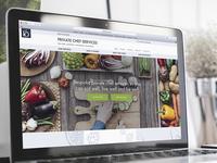Private Chef Services Website