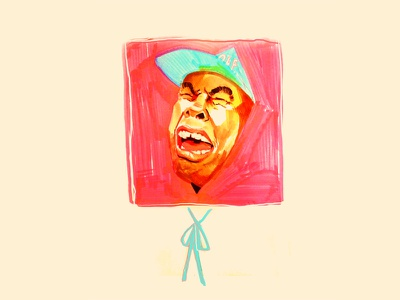 Tyler, The Creator traditional music rap illustration hiphop