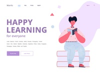 Happy Learning Illustration