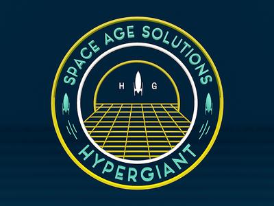 3D Space Age Solutions Crest