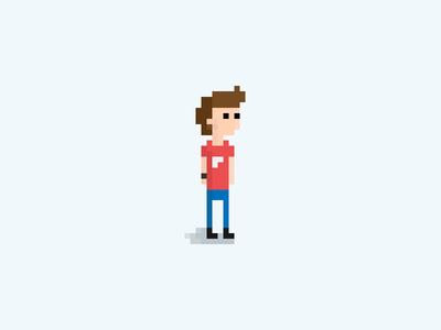 A bit of me... adobe illustrator vector design me character game bit 8