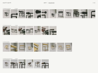 Waka Waka, Collection N°02 — 002 architecture furniture design typogaphy los angeles losangeles portfolio