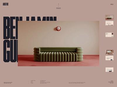 Folio 2021 — 02 design wave folio portfolio webgl javascript motion animation