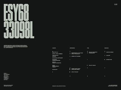 Folio 2021 — 03 design wave folio portfolio webgl javascript motion animation