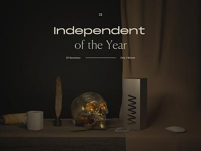 Independent of the Year 2018 on Awwwards awwwards awards award