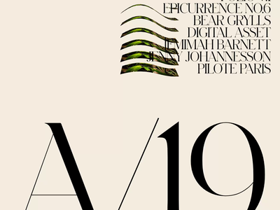 A/19 — 001 development developer distortion transition deformation javascript motion typography design folio portfolio wave webgl animation