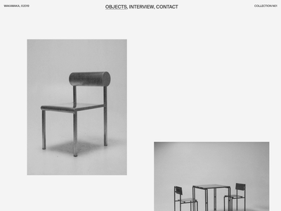 Waka Waka, Collection N°01 — 002