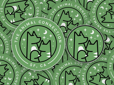 The Animal Connection Stickers