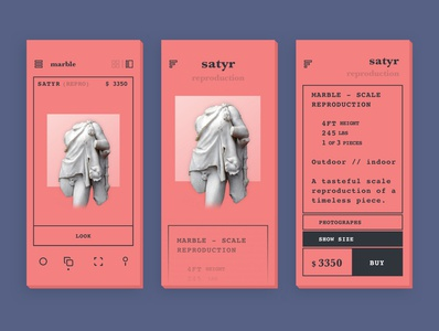 Outdoor Gallery – Mobile Storefont UI