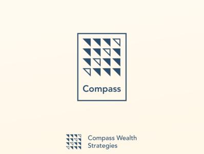 """Compass""   first round logo concept"
