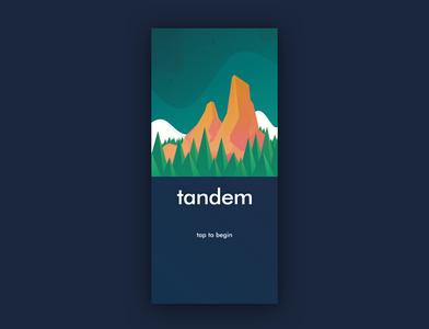 """Tandem"" Splash Screen"