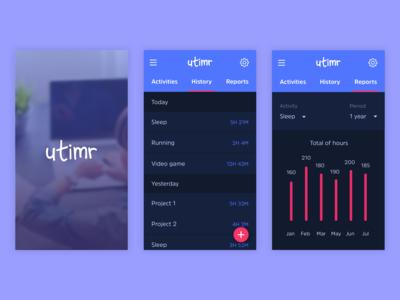 Time management app 2/4