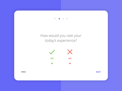 Customer satisfaction app 4/4 survey tablet app mobile