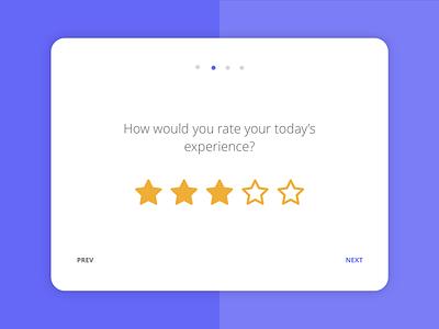 Customer satisfaction app 3/4 survey tablet app mobile