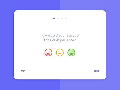 Customer satisfaction app 2/4 survey tablet app mobile