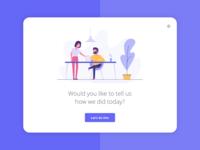Customer satisfaction app 1/4