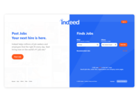 Redesign Indeed | Website | Landing Page