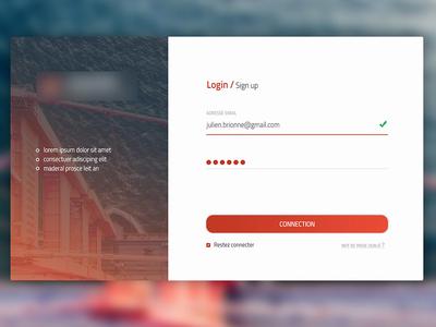 Login / SignUp V2 login app ui