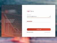 Login / SignUp V2