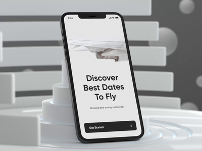 Plane Ticket Booking App Animation plane transition motion design animation boarding airport plane ticket air ticket ticket app ticket mobile app mobile ui mobile app design app interface design ui ux concept