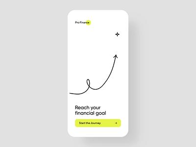 ProFinance - Finance Management App Concept Animation investment app investments investment stock market market mobile mobile ui financial mobile app user interface financial app finance finances app design app interface design ui ux concept