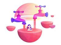 Sugar planets