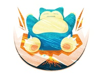 Snorlax eruption