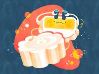 The 'Moon' cakes | 冰皮月饼