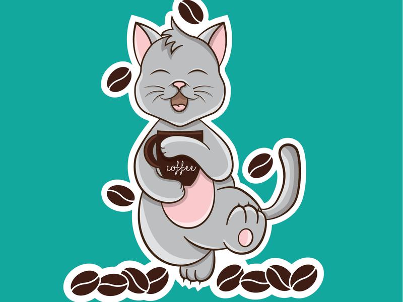 Cat & Coffee