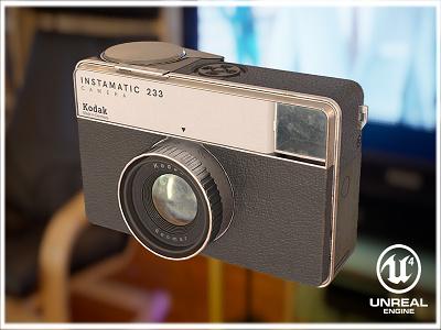 Kodak Instamatic 233 camera camera kodak next gen game prop game prop