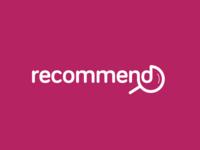 recommend wordmark