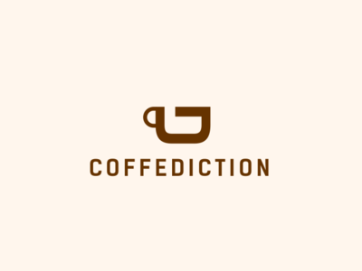 COFFEDICTION best illustration pictogram illustrator designs monogram icon design logos logo