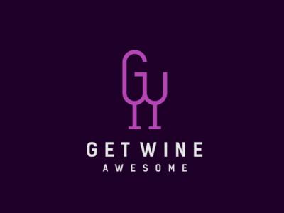 get wine logo vintage illustration pictogram badge wine bar wine logo wine illustrator designs monogram icon design logos logo